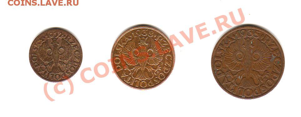 Польские монеты до 1923 2 000 в рублях
