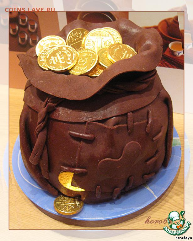 Торт мешок деньгами фото