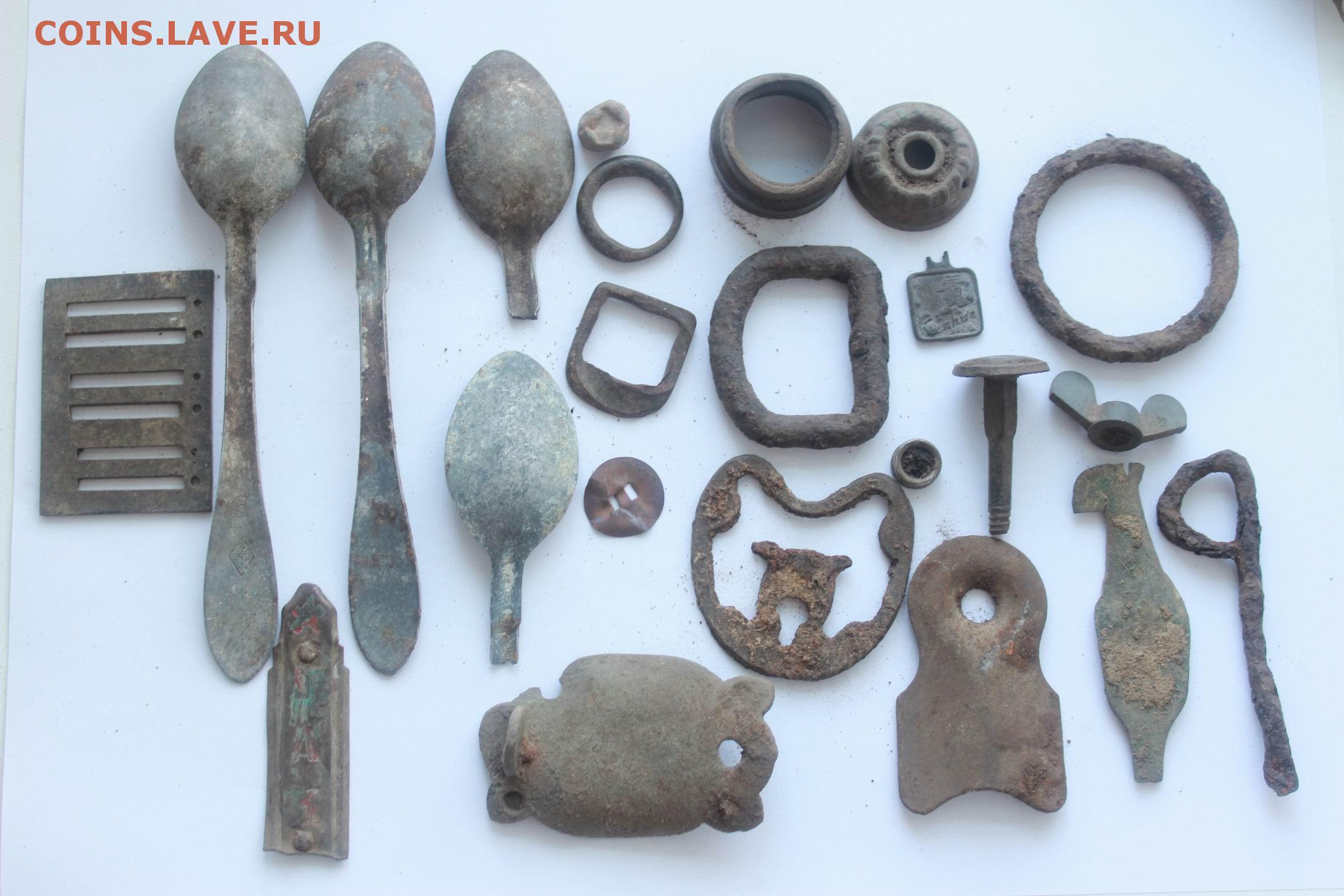 Конина, ложки и другая копанина с рубля до 31.05.2015 - моне.