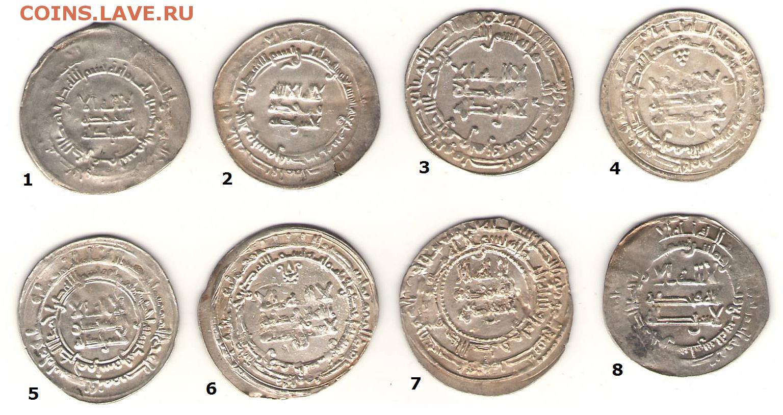 Арабские дирхемы сертификация монет