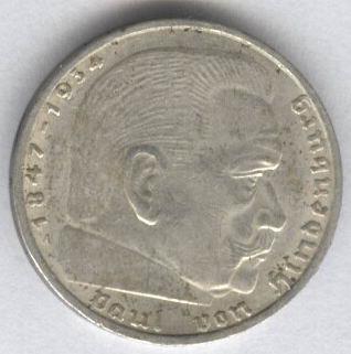 серебрянные монеты Германии - 2037a