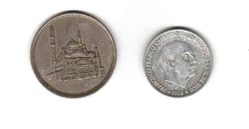 монеты: испанская и какая-то арабская - монеты2 (2)