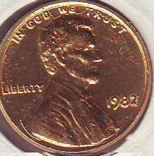 Оцените 2 монеты США по 1 центу 1932 и 1982 г.г. - 2.JPG