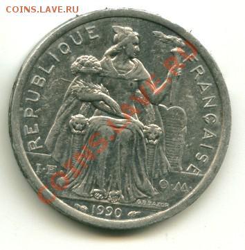 2 франка Новая Каледония до 01.10.2013 22-00мск - калед................