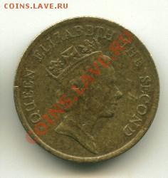10 центов Гон Конг  Год: 1989 до 03.10.2013 22-00мск - 19...........