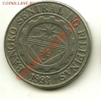 1 писо Филипины  Год:1997 до 03.10.2013 22-00мск - 1...................