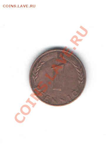ГЕРМАНИЯ 1 ПФЕНИНГ 1950 Г. ДО 6.12 - 1112