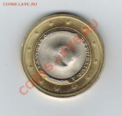 браки на евро монетах - euro 1