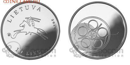 КИНЕМАТОГРАФ на монетах и жетонах - литваКино.JPG