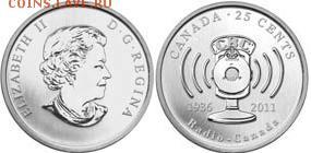 Монеты на IT-тематику - Канада 25 центов 2011