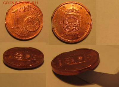 браки на евро монетах - 1clv Выкус, луна