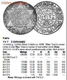 монеты Марокко - 9999.JPG