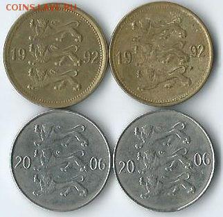 *****Монеты разных стран***** - эстония-