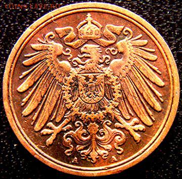 Германская Империя_1 пфенниг 1898(А); до 27.04_22.44мск - 10915