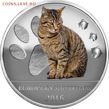 Кошки на монетах - Буркина-Фасо-1