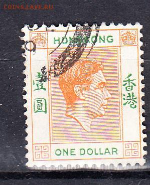 Колонии Гон Конг 19461м 1$ - 565