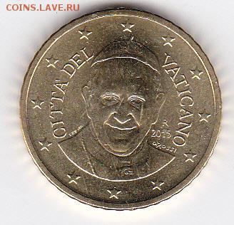 50 евроцентов Ватикан 2015 до 15.02.2017 в 22:30 - 50