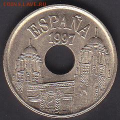 С 1 руб Испания 25 песет 1997 до 22.08 22:00 мск - IMG_0093