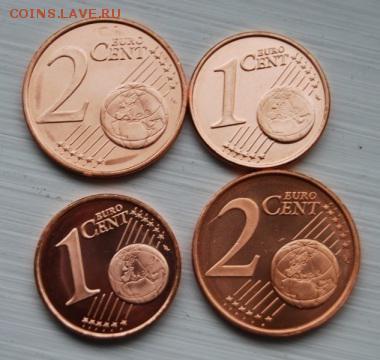 1 и 2 цента Финляндии 2003,2005 UNC, 02.09.17 (22.00) - 9875963f04604873bacaac80e8c62-m