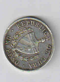 Помогите оценить монету Кубы - peso1