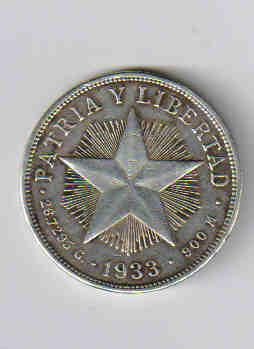Помогите оценить монету Кубы - peso