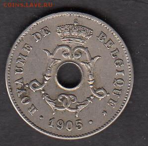 Бельгия 1905 10с - 60а