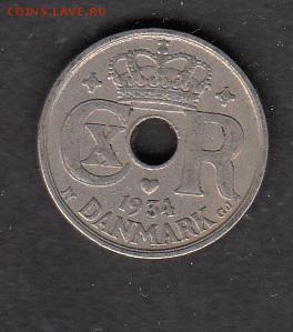 Дания 1934 10о - 63