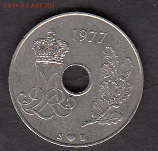 Дания 1977 25о - 67а