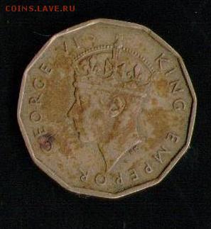ФИДЖИ 3 ПЕНСА 1947 - 12 001