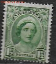 Австралия 1942. Mi AU 164. Елизавета (1) - Австралия. 1942 (1). Mi AU 164