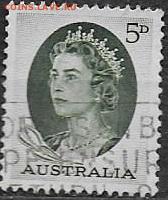 Австралия 1963. ФИКС. Mi AU 329A. Елизавета II. (1) - Австралия.1963. Mi AU 329A (1)