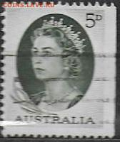 Австралия 1964. ФИКС. Mi AU 329Dr. Елизавета II - Австралия.1964. Mi AU 329Dr
