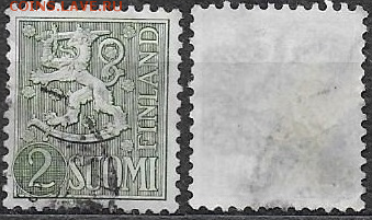 Финляндия.1955. ФИКС. Mi Fi 426. Герб - 426