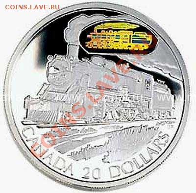 Канада 20 $ Серебро Proof. - image