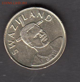 Свазиленд  2003 1л без обращения до 10 08 - 220а