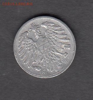 Австрия 1951 2 гроша до 13 08 - 268а