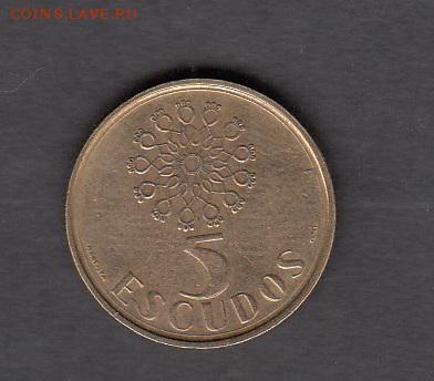 Португалия 1987 5 эскудо до 14 08 - 360а