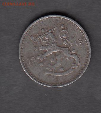 Финляндия 1945 1 марка до 18 08 - 159а
