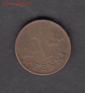 Финляндия 1969 1 пенни с рубля до 18 08 - 171