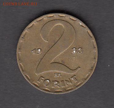 Венгрия 1983 2 форинта с рубля до 27 08 - 238а