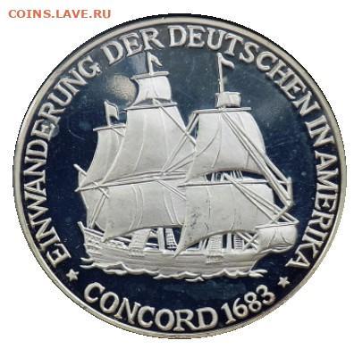 Монеты с Корабликами - Concord1683.JPG