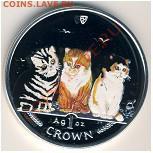 Кошки на монетах - 93bfc7653bcc