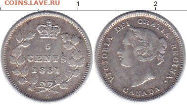 Канада. Монеты периода правления королевы Виктории 1858-1901 - 1236402b
