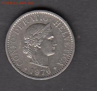 Швейцария 1976 10 раппенов до 23 05 - 14а