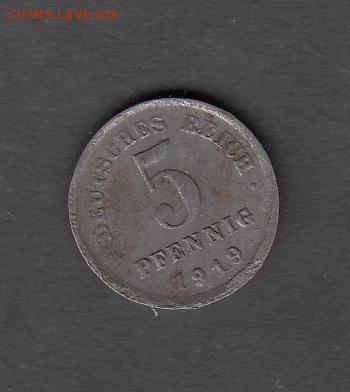 Германия 1919 5 пф до 23 05 - 176