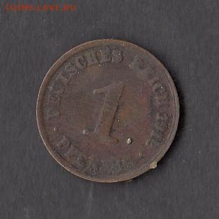 Германия 1912 1 пфенниг до 23 05 - 180