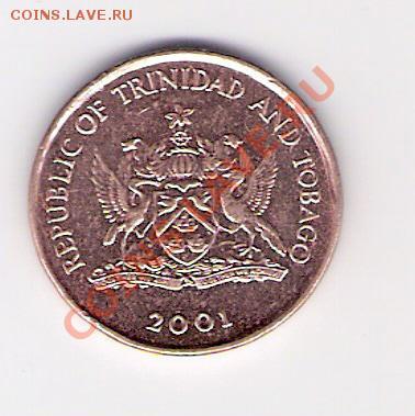 ТРИНИДАД И ТОБАГО 1 цент 2001, до 30.09.11 22-00мск. - сканирование0215
