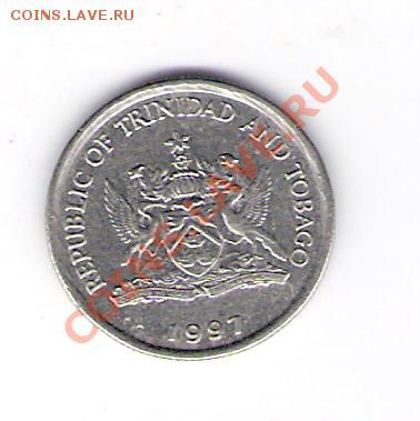 ТРИНИДАД И ТОБАГО 10 центов 1997, до 30.09.11 22-00мск. - сканирование0351
