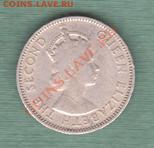 """Британская Восточная Африка, Пол Шиллинга 1954 """"Лев"""" (04.10) - s13"""