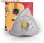 Любопытная монета (треугольная) - 2009-50-cent-triangle-coin-six-string-nation-guitar